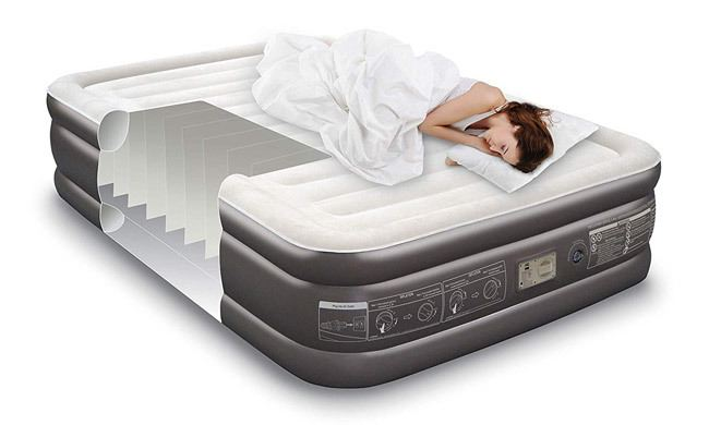 Noble Queen Size Luxury Upgraded Double HIGH Raised Air Mattress